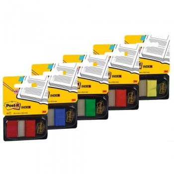 INDEX POST-IT  MEDIANO AZUL DISPENSADOR 50 UNIDADES 680
