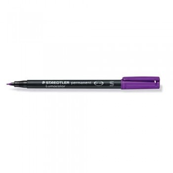 ROTULADOR PERMANENTE PUNTA S 0,4 MM VIOLETA LUMOCOLOR 313 SUPERFINO STAEDTLER