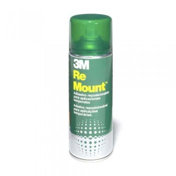 SPRAY ADHESIVO REMOVIBLE INDEFINIDAMENTE 400 ML. 3M