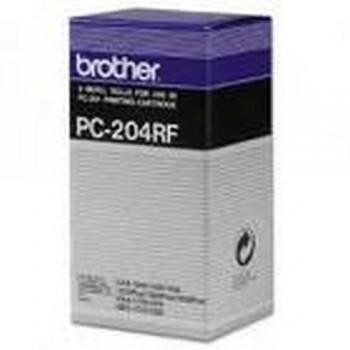 BROTHER CARTUCHO TINTA NEGRO FAX PC204RF