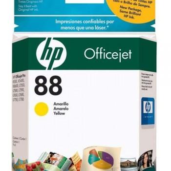 HP CARTUCHO TINTA C9388AE N?88 AMARILLO
