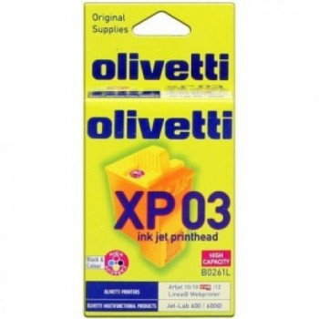 OLIVETTI CARTUCHO TINTA COLOR B0261