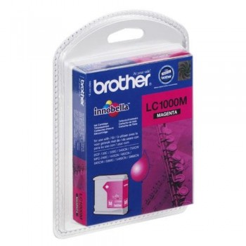 BROTHER CARTUCHO TINTA LC1000M MAGENTA