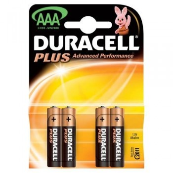 PILA DURACELL AAA PLUS 1.5V ESENCIALES