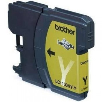 BROTHER CARTUCHO TINTA LC1100HYY AMARILLO ALTO RENDIMIENTO ORIGINAL