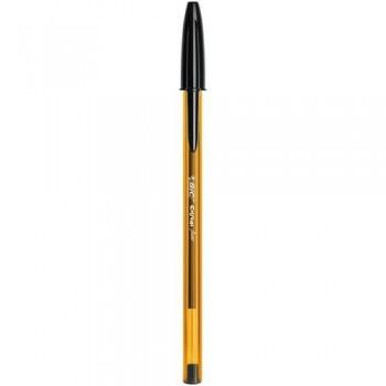 Bolígrafo tinta aceite punta 0,8mm negro Bic Cristal Fine ESENCIALES