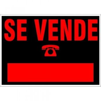 CARTEL MODELO GRANDE   SE VENDE   700X500 NEGRO ARCHIVO 2000
