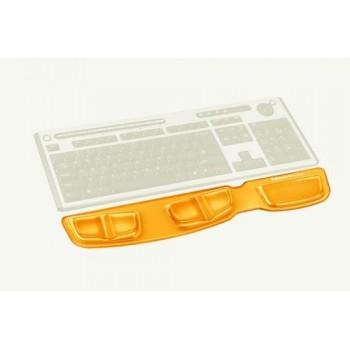 Reposamuñecas para teclado de gel canal V Azul ESENCIALES