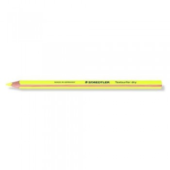 LÁPIZ FLUORESCENTE AMARILLO TEXT SURFER DRY 128 64