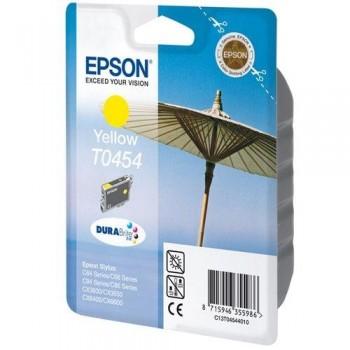 EPSON CARTUCHO TINTA T0454 AMARILLO