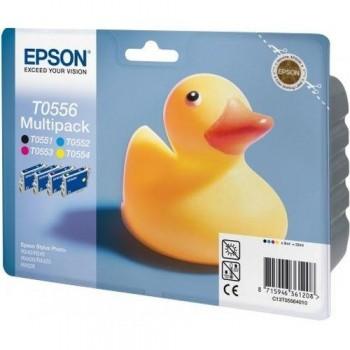 EPSON CARTUCHO TINTA T0556 BK/C/M/Y