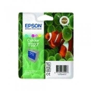 EPSON CARTUCHO TINTA T027 COLOR