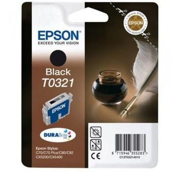 EPSON CARTUCHO TINTA T0321 NEGRO
