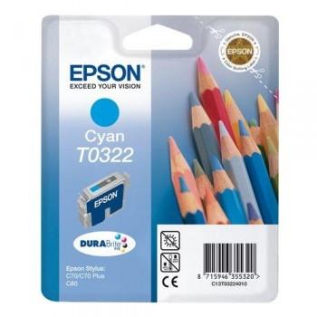 EPSON CARTUCHO TINTA T0322 CIAN