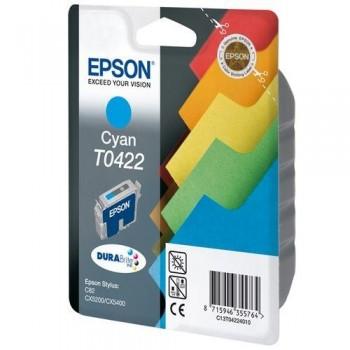 EPSON CARTUCHO TINTA T0422 CIAN