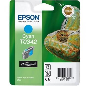 EPSON CARTUCHO TINTA T0342 CIAN