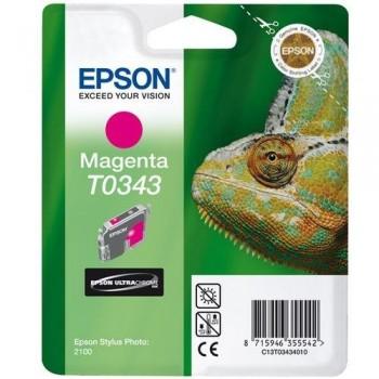 EPSON CARTUCHO TINTA T0343 MAGENTA