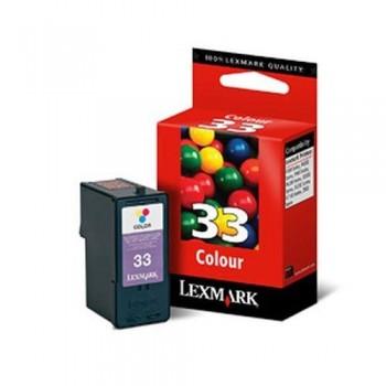 LEXMARK CARTUCHO TINTA N33 TRICOLOR