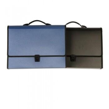 MALETIN CLASIFICADOR 24 DIVISIONES COLOR NEGRO OFFICE BOX