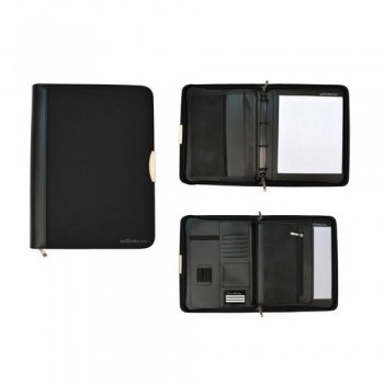 PORTAFOLIO A4 CON ANILLAS DYNAMIC SERIE BLACK LINE OFFICE BOX