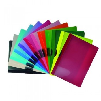 Dossier Clip-It con Pinza de Plástico Colorline ESENCIALES
