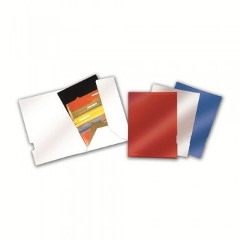 Subcarpeta EjecutIvo alto brillo Natural con bolsa lateral 325x235mm blanco ESENCIALES