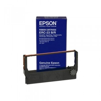 EPSON CINTA C43S015362 NEGRO/ROJO