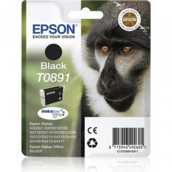 EPSON CARTUCHO TINTA C13T08914011 Nº T0891 NEGRO