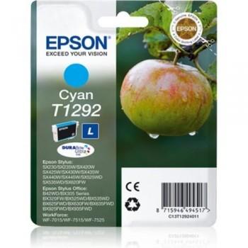 EPSON CARTUCHO TINTA C13T12924011 Nº T1292 CIAN