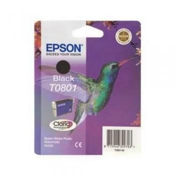 EPSON CARTUCHO TINTA C13T08014011 Nº T0801 NEGRO