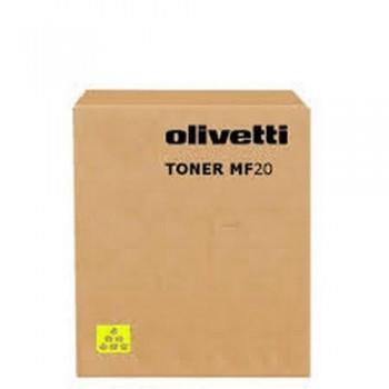 OLIVETTI TÓNER LÁSER B0432 AMARILLO
