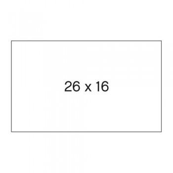 ETIQUETA PERMANENTE 26x16 BL (6x1000) ESENCIALES
