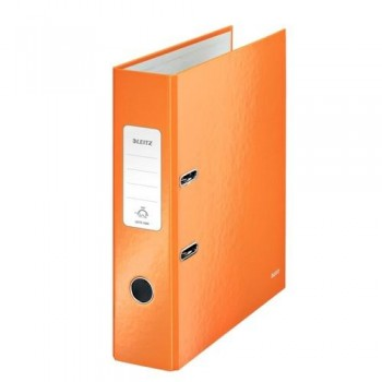 ARCHIVADOR A4 80MM. NARANJA METALIZADO WOW LEITZ