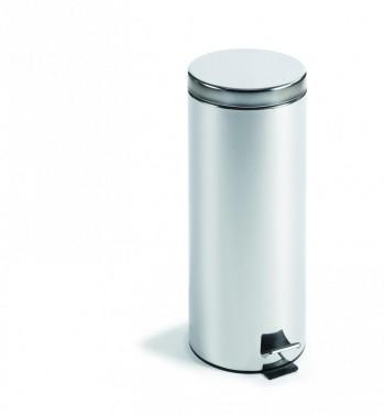 Cubo pedal metálico Inox 45 x 30 cm. ESENCIALES