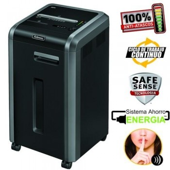 DESTRUCTORA FELLOWES 225CI PARTICULAS ESENCIALES