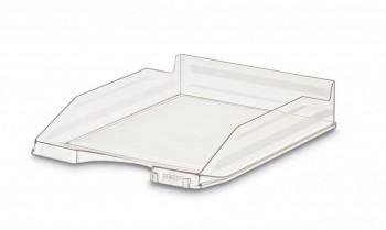 Bandeja apilable transparente cristal 350x250x65mm Faibo ESENCIALES