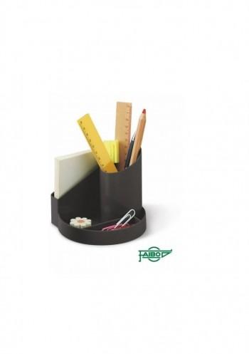 Cubilete de plastico 4 departamentos gris Faibo ESENCIALES