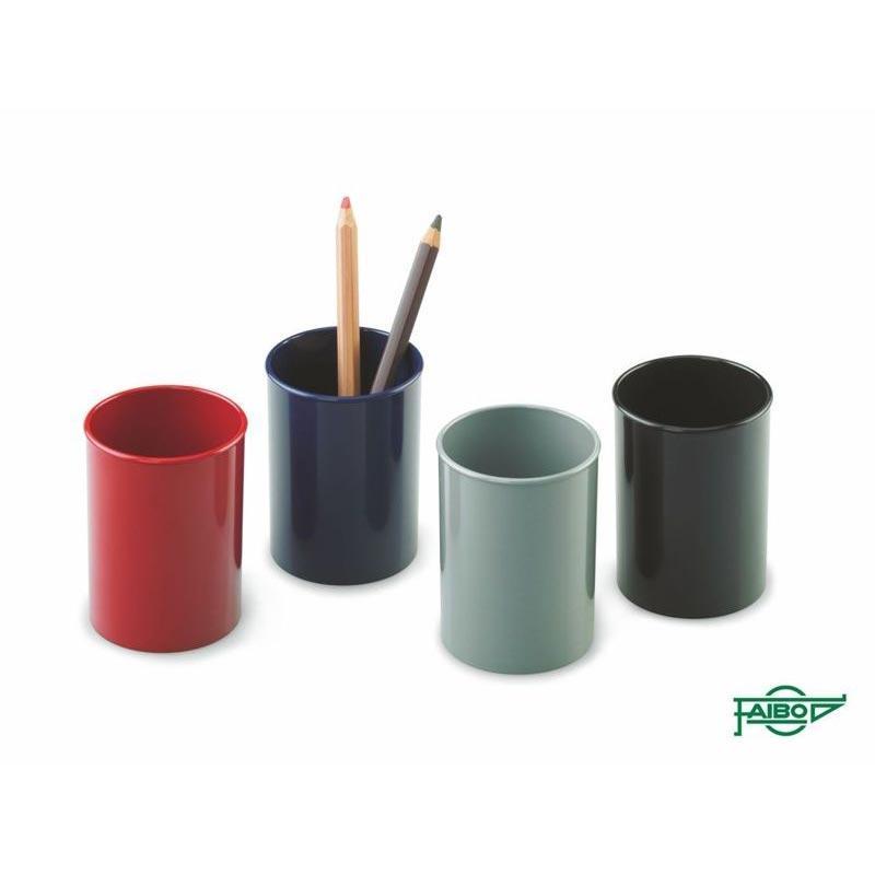 Cubiletes plástico opacos 10u  78mm x 10cm surtidos Faibo ESENCIALES