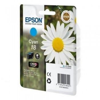 EPSON CARTUCHO TINTA C13T18024012 Nº 18 CIAN
