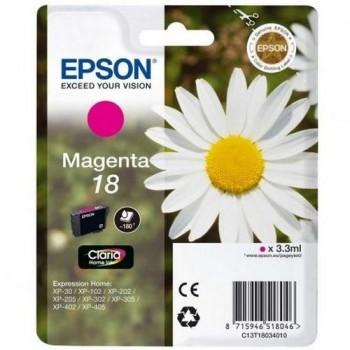 EPSON CARTUCHO TINTA C13T18034012 Nº 18 MAGENTA