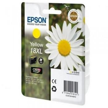EPSON CARTUCHO TINTA C13T18144012 N? 18XL AMARILLO