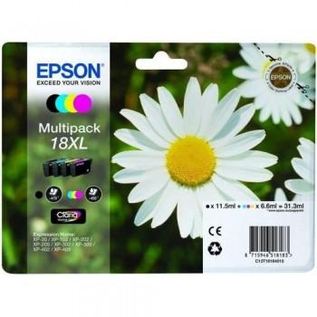 EPSON CARTUCHO TINTA C13T18164012 N? 18XL BK/C/M/Y