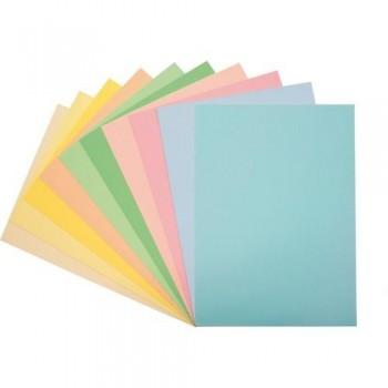 Papel color A4 80 gr 500 hojas pastel amarillo claro Fixo ESENCIALES