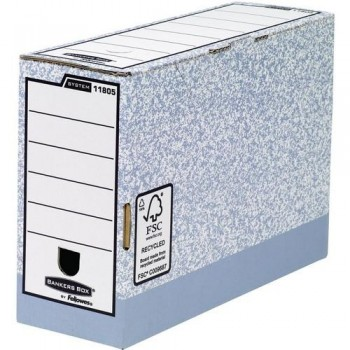 CAJA ARCHIVO DEFINITIVO FOLIO 120MM. GRIS FELLOWES