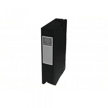 CARPETA PROYECTO A4 LOMO 60 MM. NEGRO EXABOX CARTU ESENCIALES