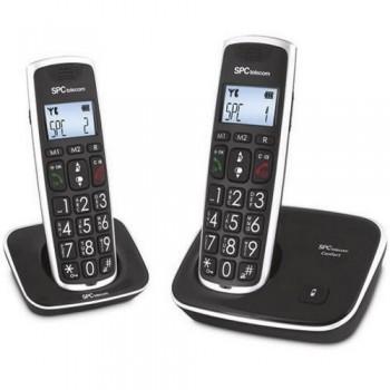 TELÉFONO INALÁMBRICO DUO SPC TELECOM 7609