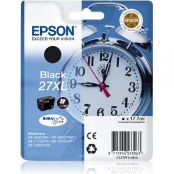 EPSON CARTUCHO TINTA C13T27114010 Nº 27XL NEGRO