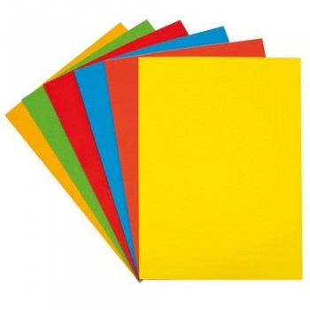 PAPEL COLOR A4 80 GR. 100 HOJAS INTENSO ORO FIXO