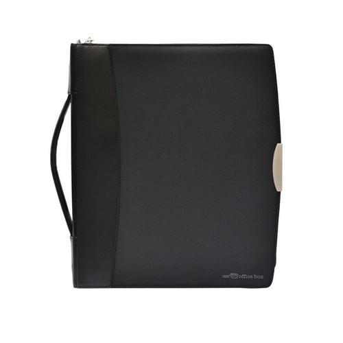 PORTAFOLIO A4 CON ASA Y ANILLAS DYNAMIC SERIE BLACK LINE OFFICE BOX