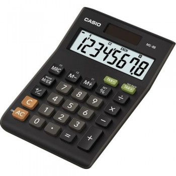 CALCULADORA SOBREMESA 8 DÍGITOS MS-8B-L CASIO
